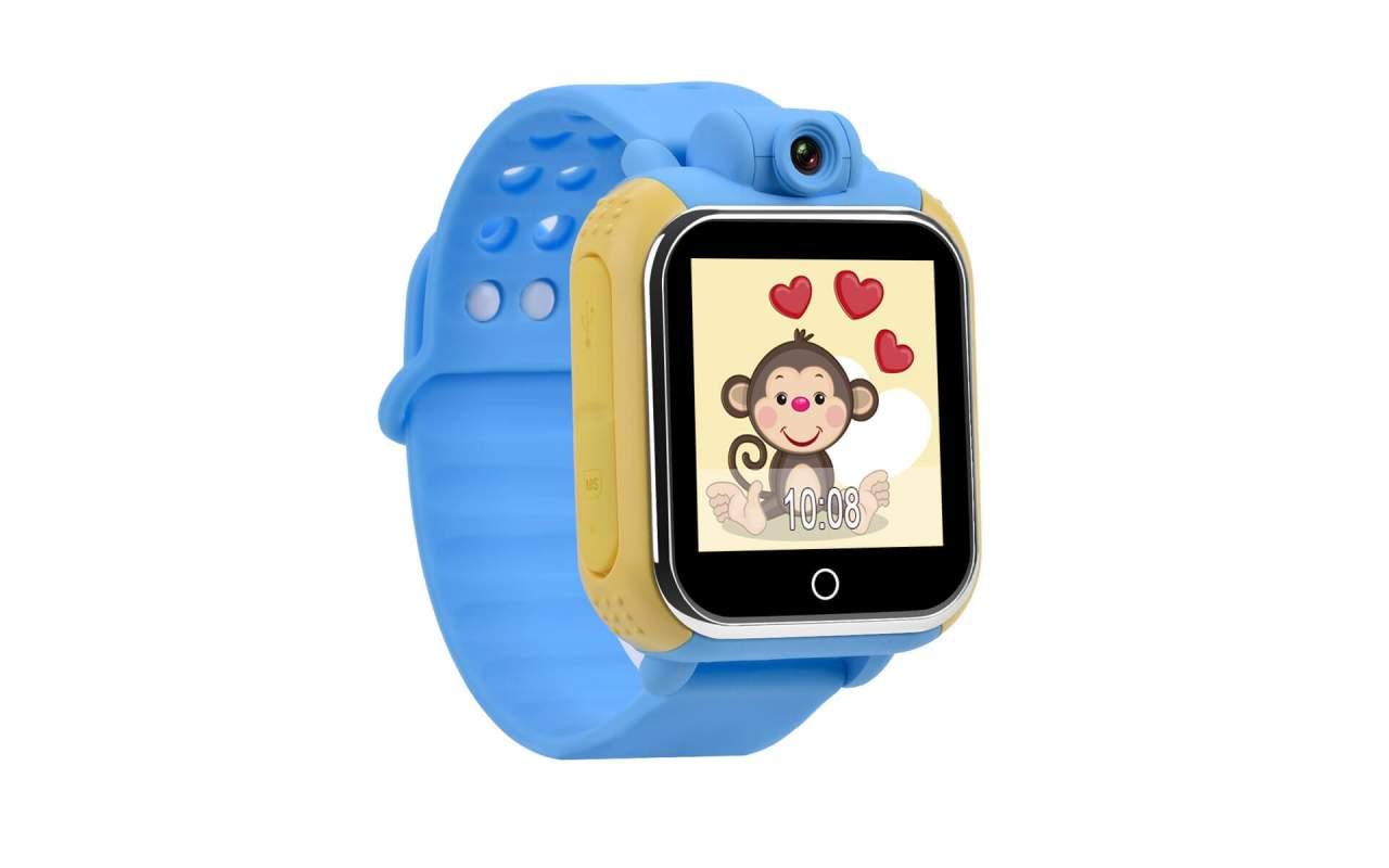 Детские часы с GPS-трекером Smart Baby Watch Q75