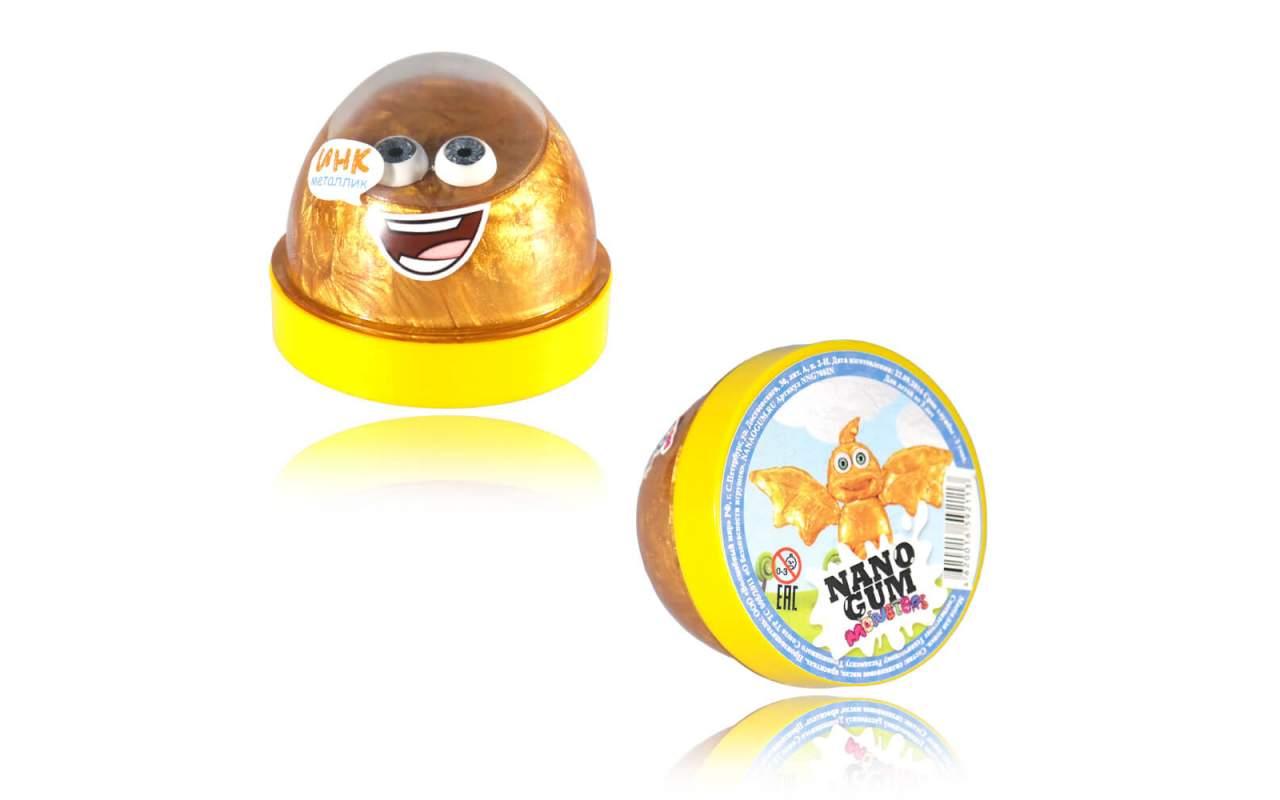 Купить Nano gum 'Инк'. Металлик