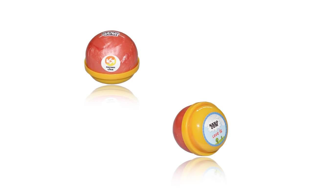 """Купить Nano gum """"Лави"""". С ароматом """"LOVE IS"""" и меняет цвет 25 гр"""