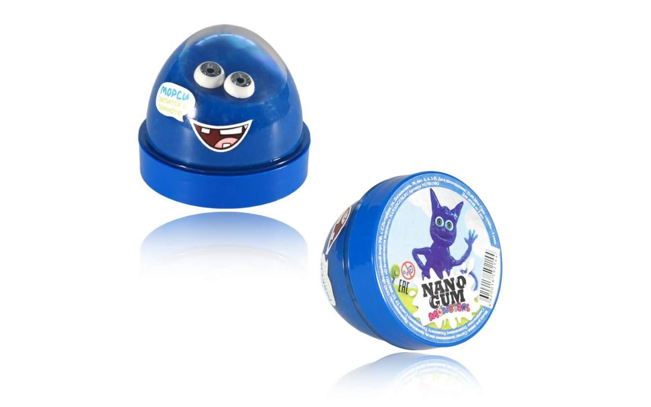 """Купить Nano gum """"Морси"""". Светится в темноте."""