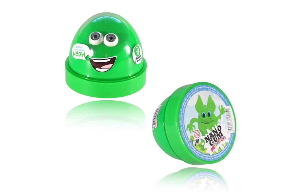 """Купить Nano gum 'Неон"""". Светится в темноте"""