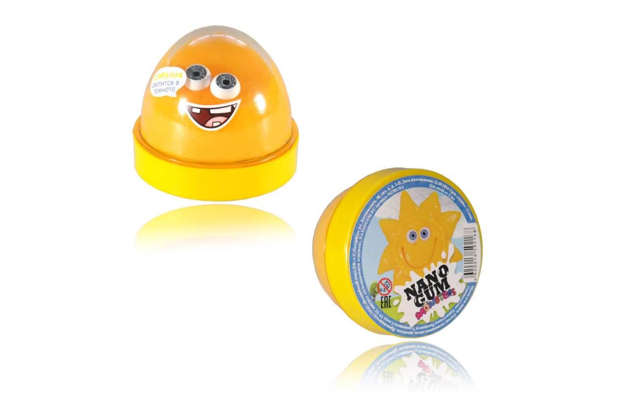 """Купить Nano gum """"Сафарик"""". Светится в темноте."""