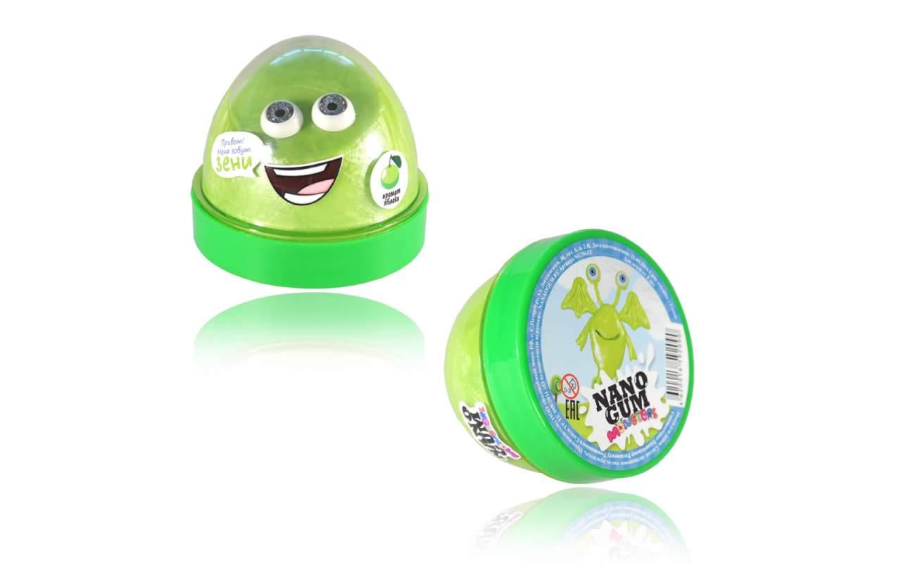 """Купить Nano gum """"Зени"""". С ароматом яблока."""