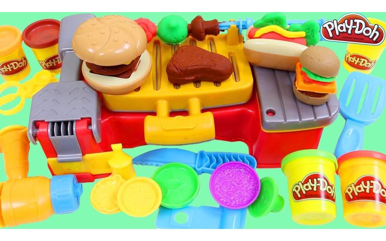 Игровой набор Play-Doh Барбекю для пикника