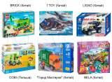 Качественные и не очень качественные аналоги LEGO