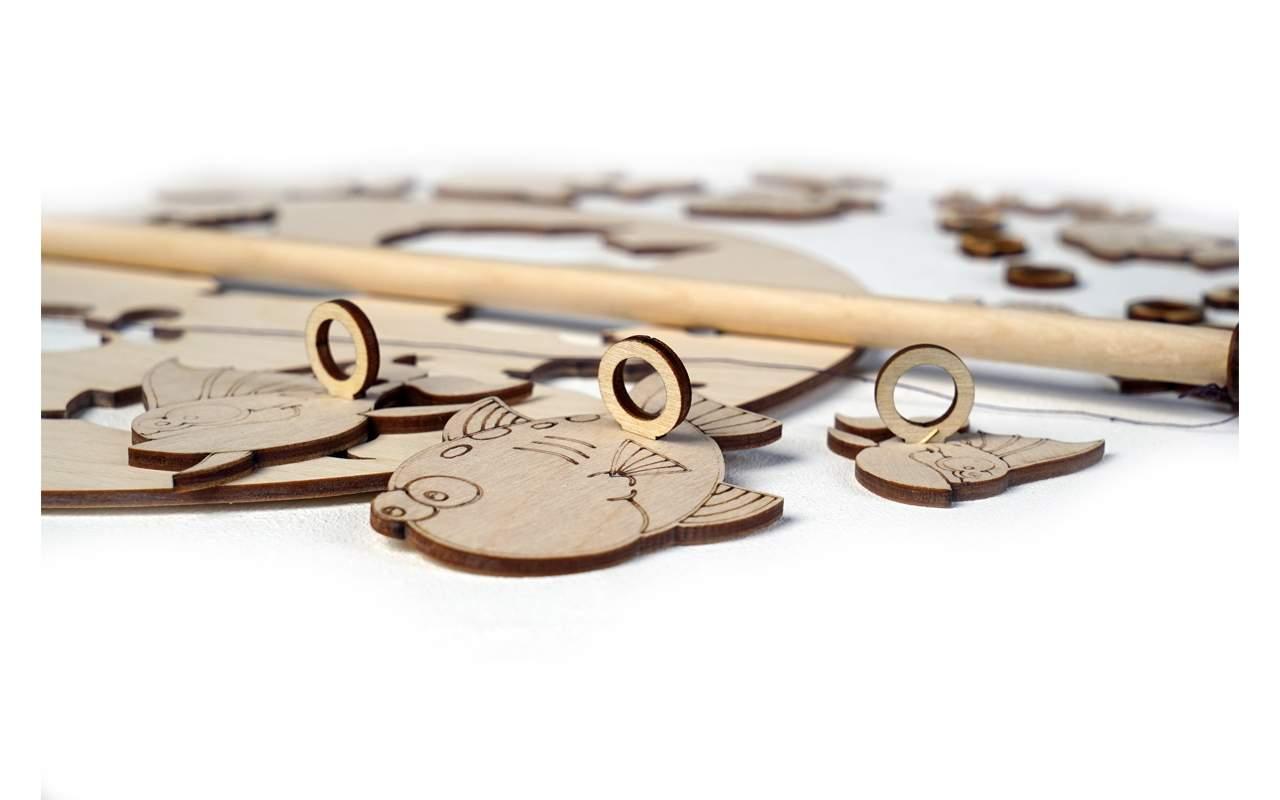Купить Игра Рыбалка конструктор Lemmo из дерева