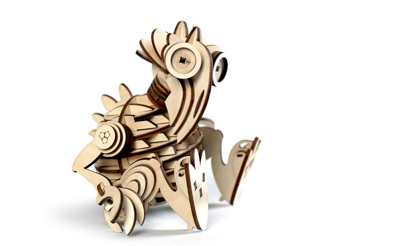 Купить Леммитск Кеша конструктор Lemmo из дерева