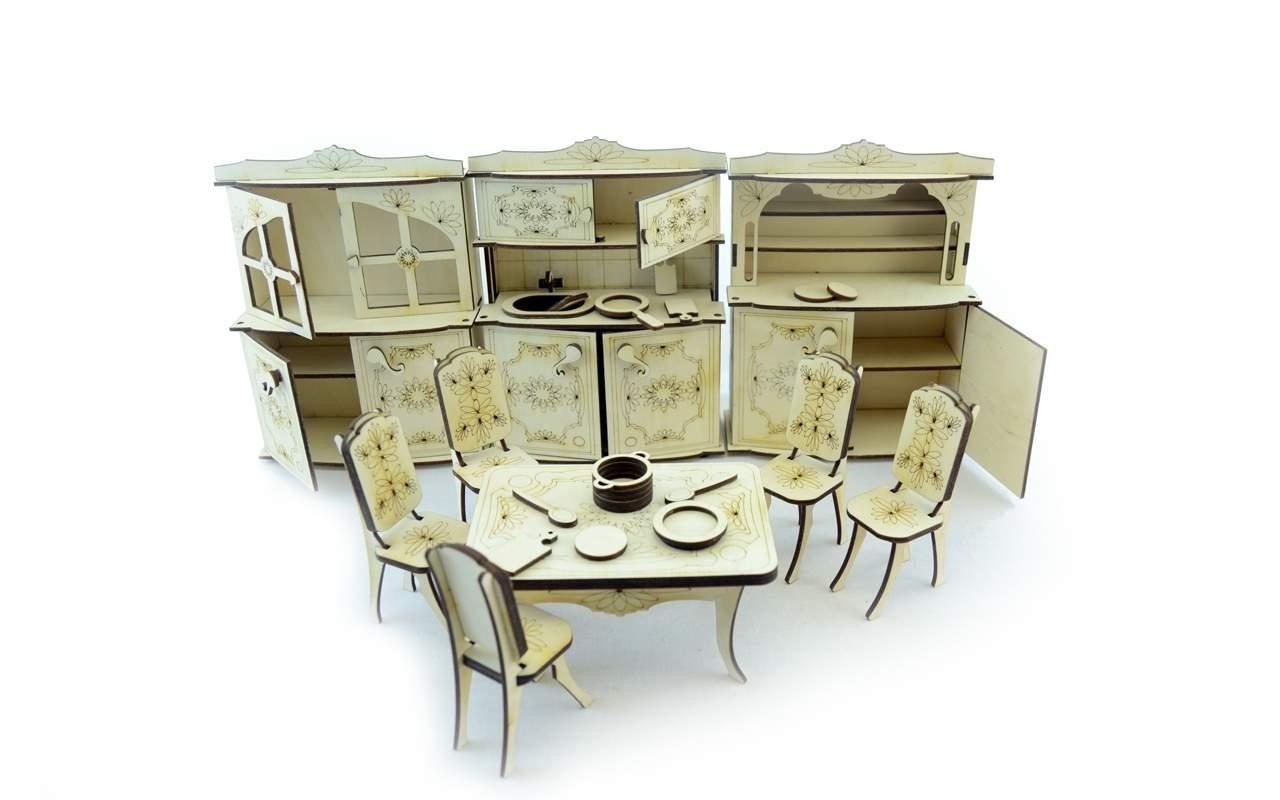Купить Набор мебели Кухня конструктор Lemmo из дерева