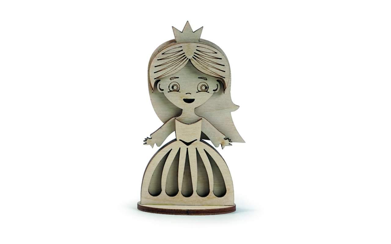 Купить Принцесса Маленькая конструктор Lemmo из дерева