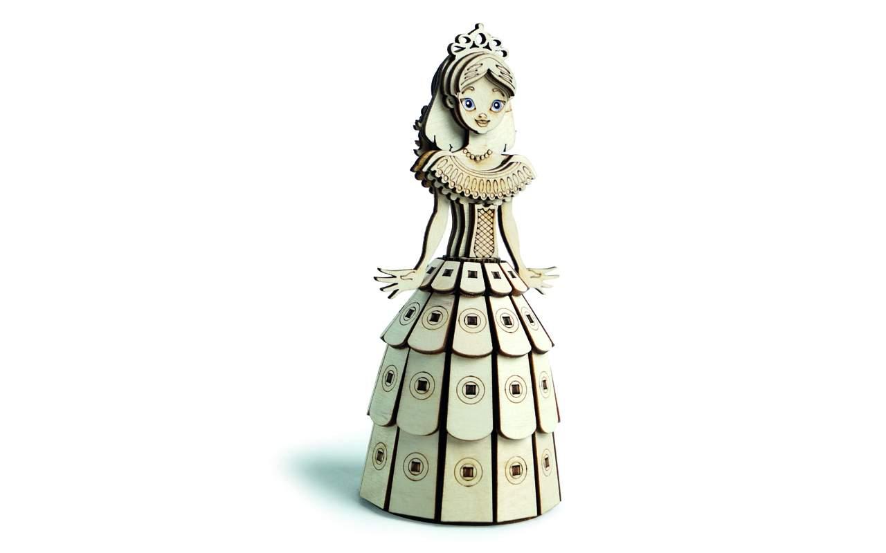 Купить Принцесса конструктор Lemmo из дерева
