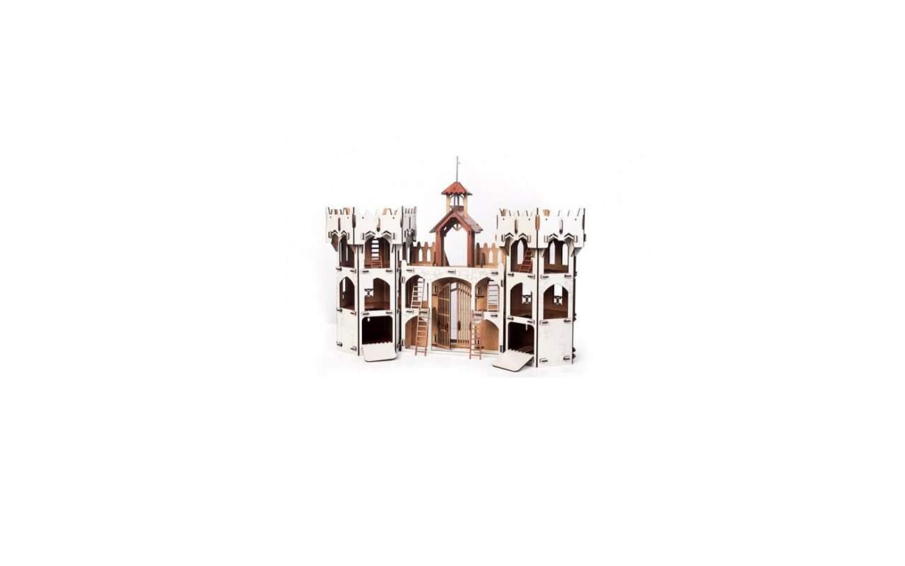 Купить Рыцарский Замок конструктор Lemmo из дерева