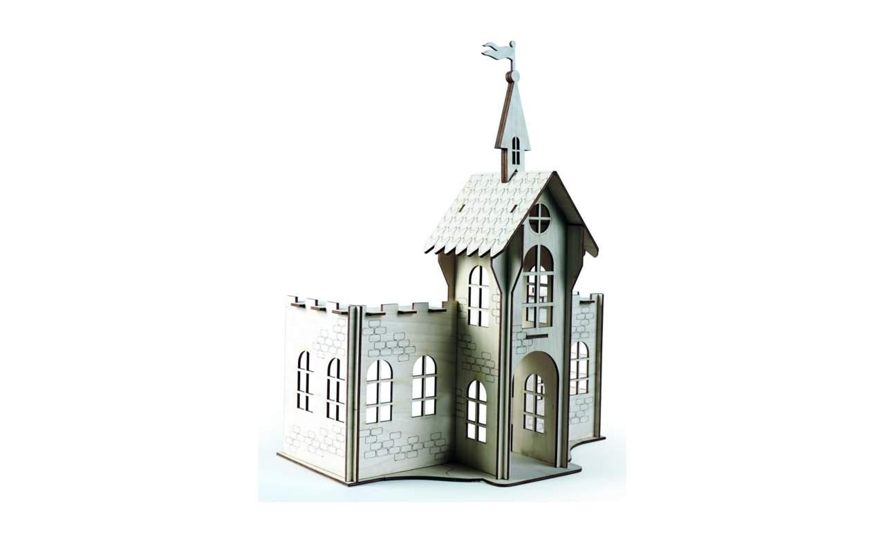 Купить Сказочный Замок конструктор Lemmo из дерева