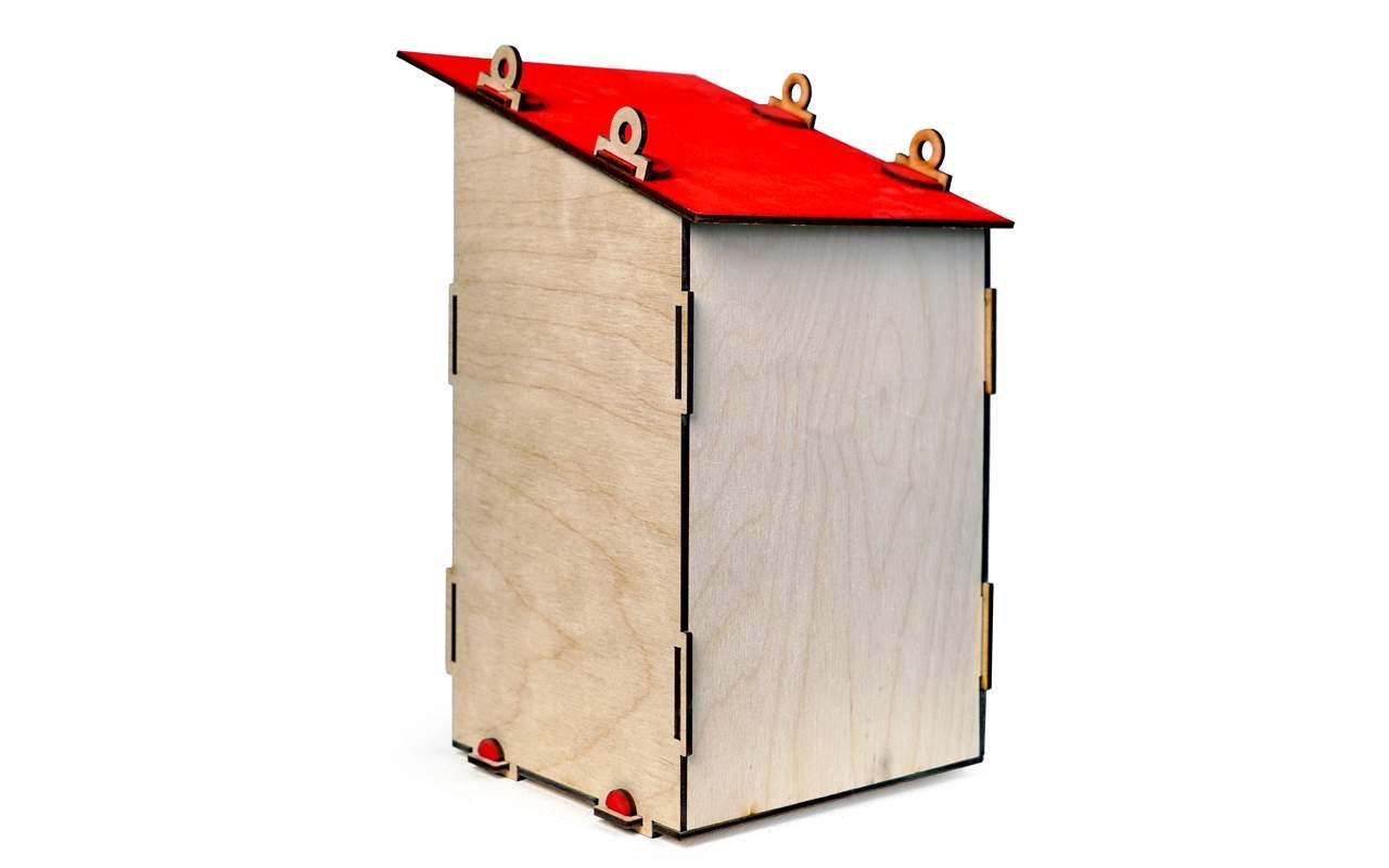 Купить Скворечник конструктор Lemmo из дерева