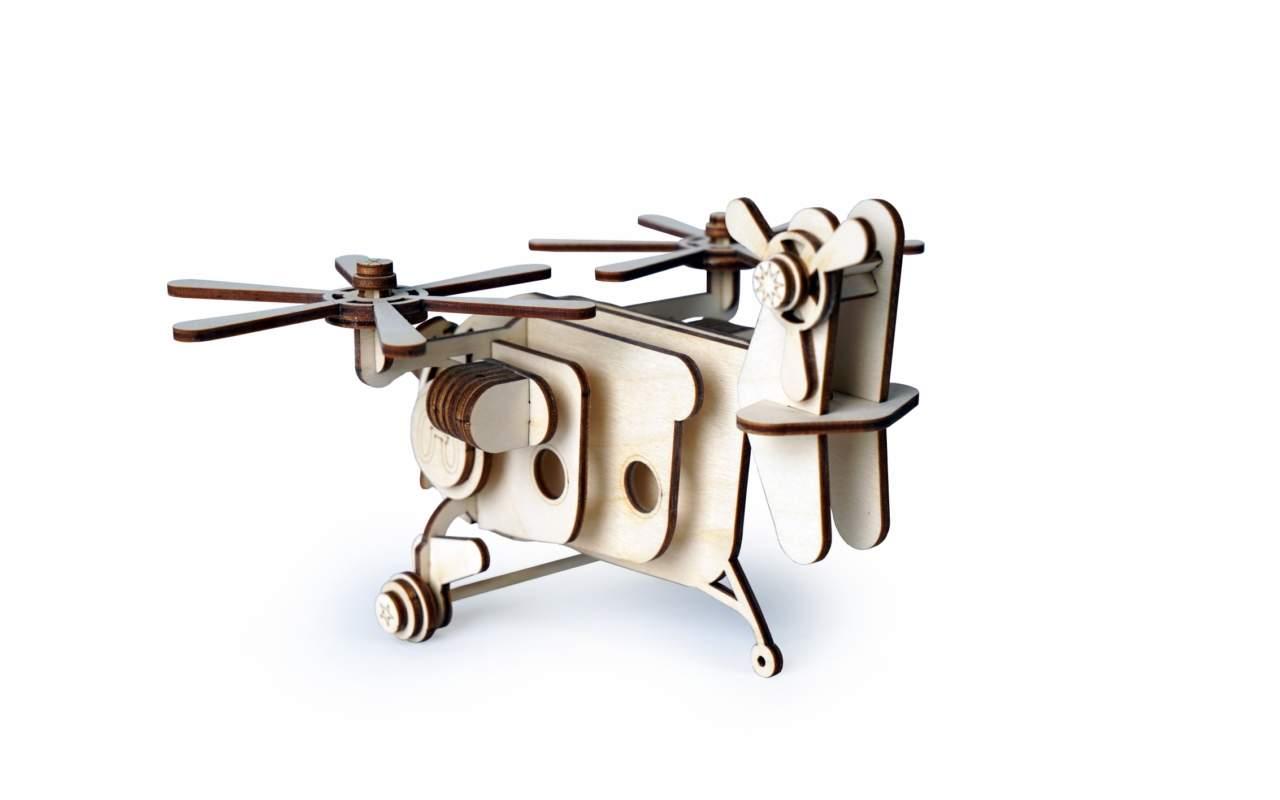 Купить Ветролет палыч конструктор Lemmo из дерева