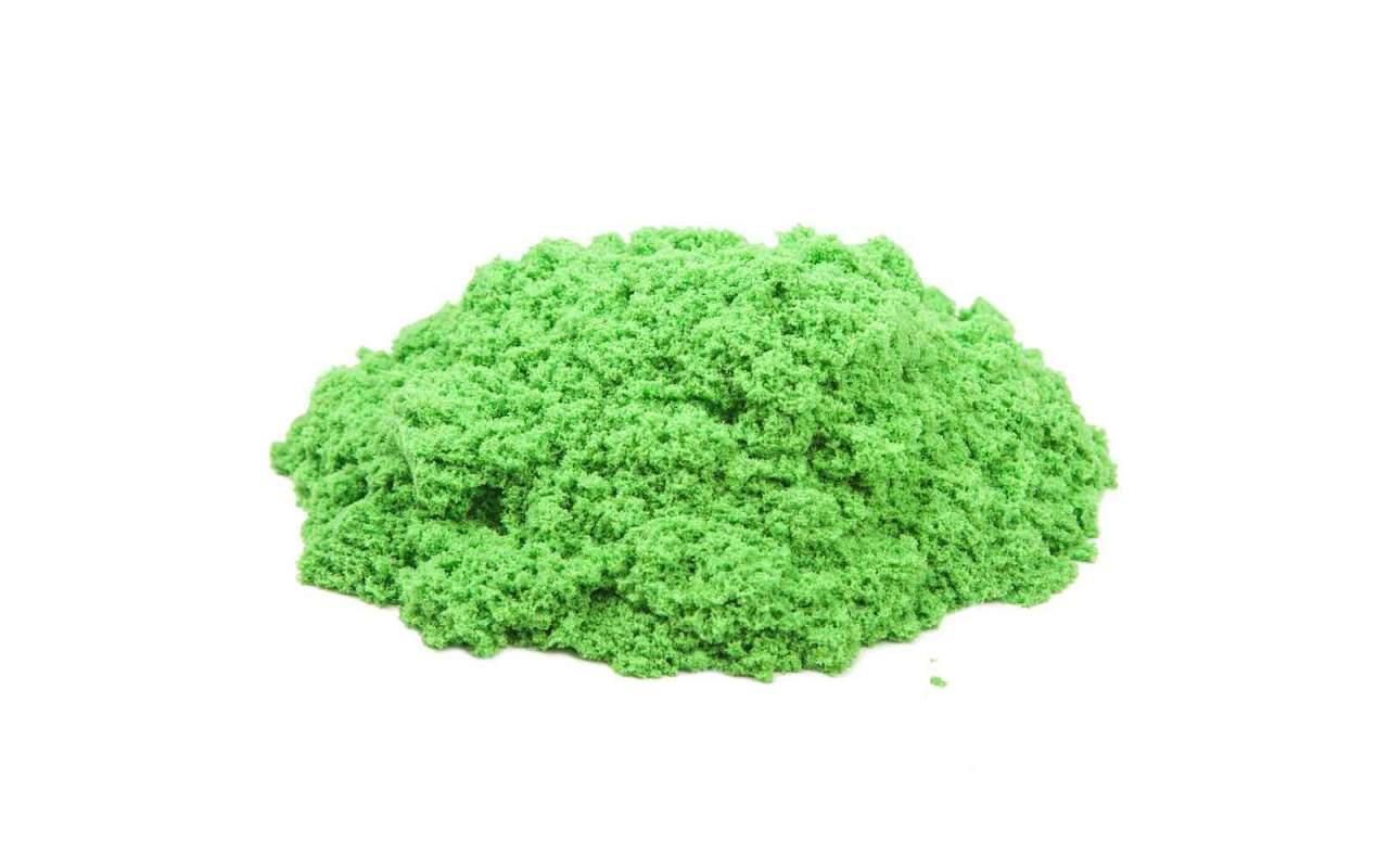 Космический песок Зелёный 3 кг