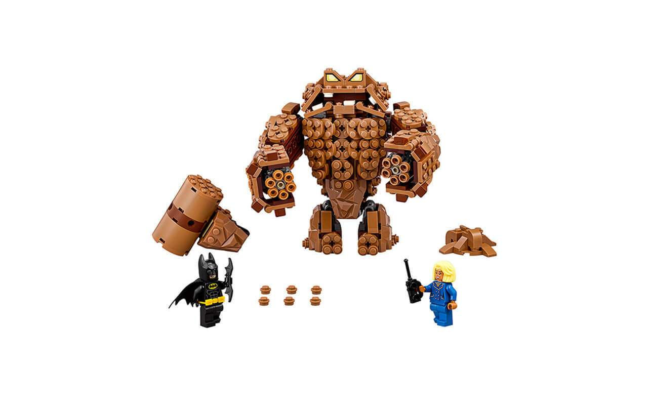 Конструктор аналог ЛЕГО (LEGO) Атака Глиноликого BATMAN MOVIE BELA 10632