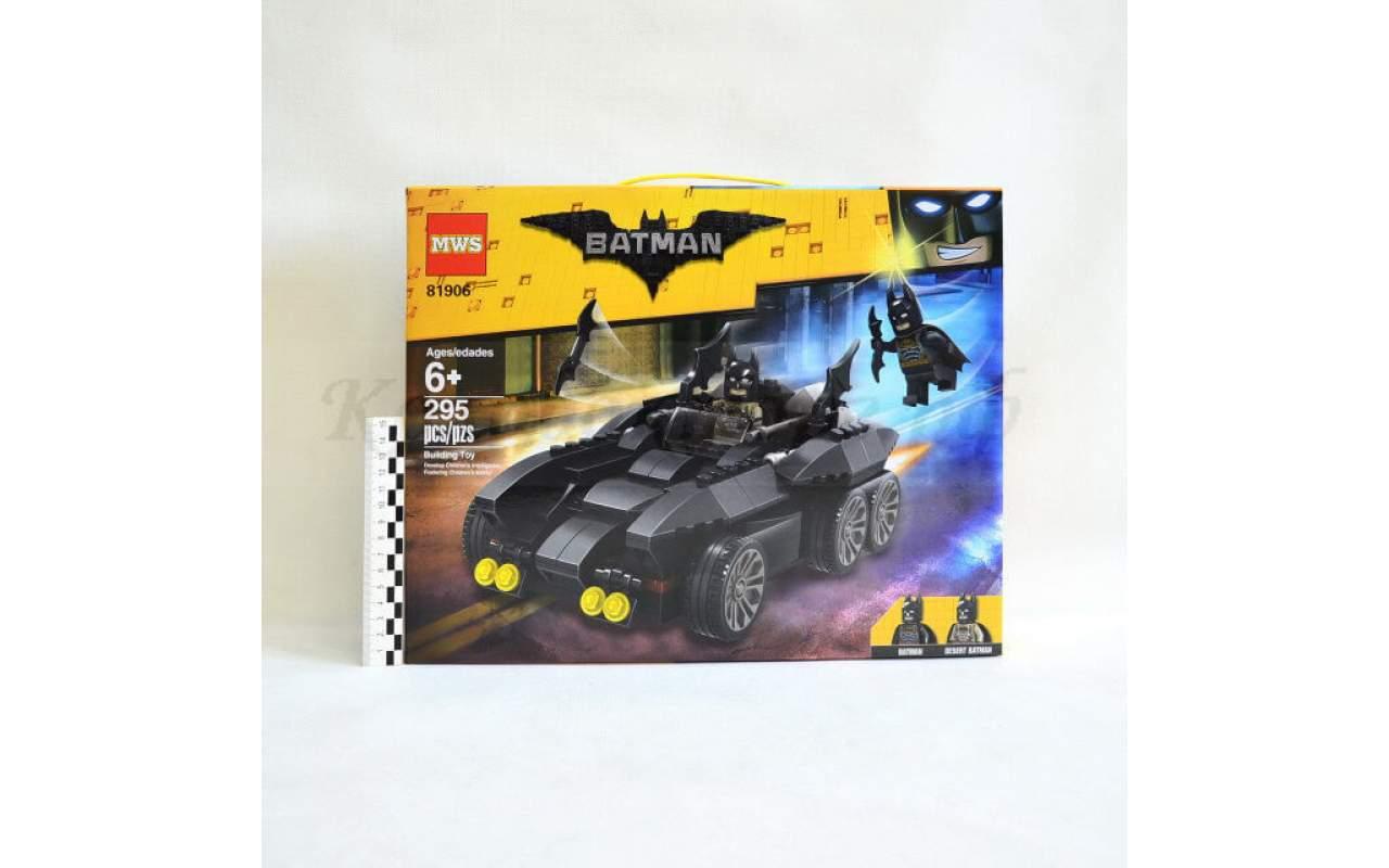 Конструктор аналог ЛЕГО (LEGO) Бэтмобиль 81906