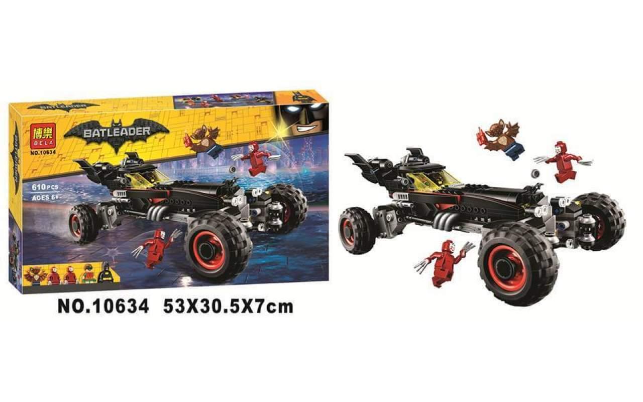Конструктор аналог ЛЕГО (LEGO) Бэтмобиль BATMAN MOVIE BELA 10634