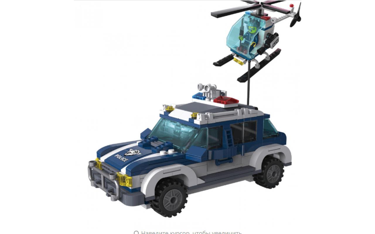 Конструктор аналог ЛЕГО (LEGO) Городской патруль BRICK 1117