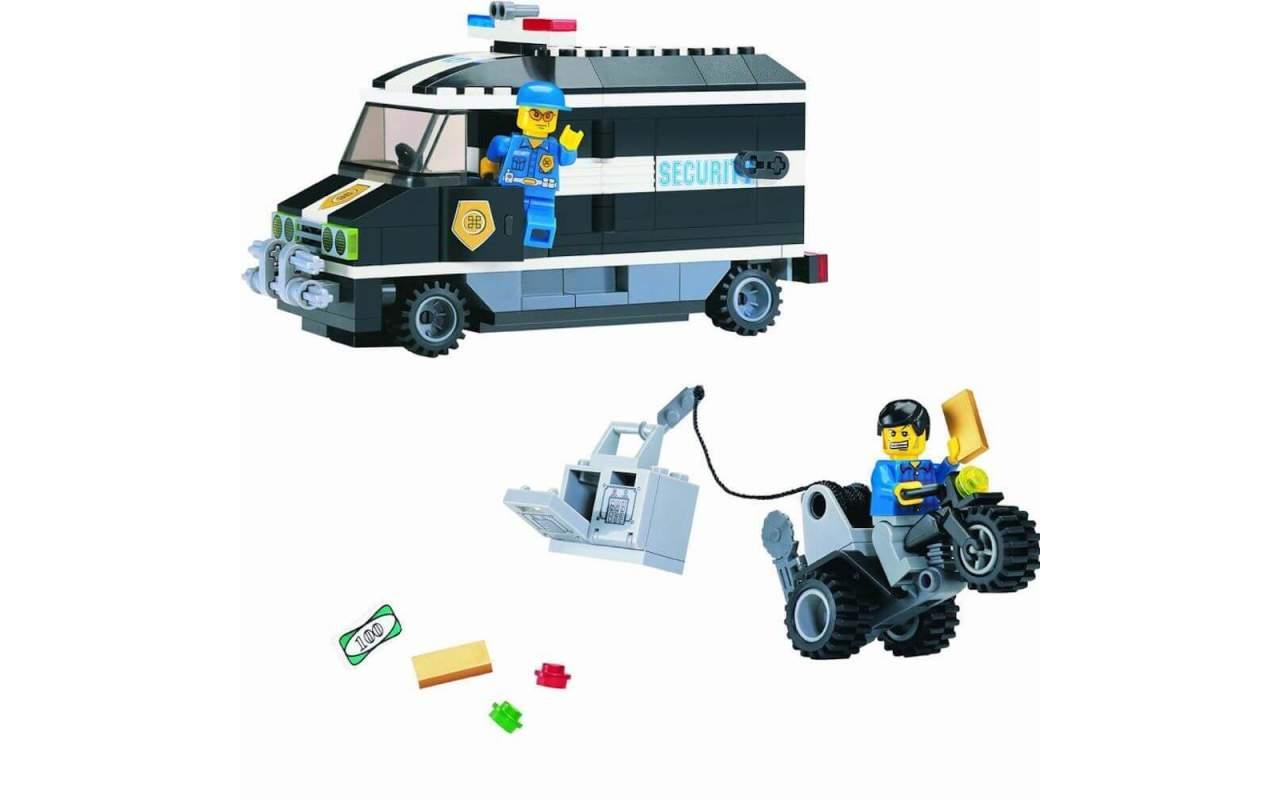 Конструктор аналог ЛЕГО (LEGO) Инкассаторский фургон BRICK 127