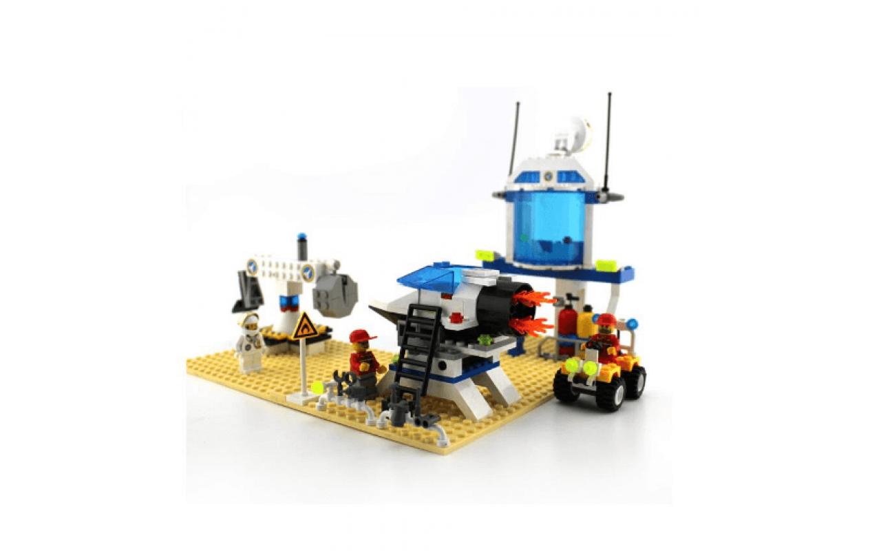 Конструктор аналог ЛЕГО (LEGO) Космическая станция (База для астронавтов) BRICK 513