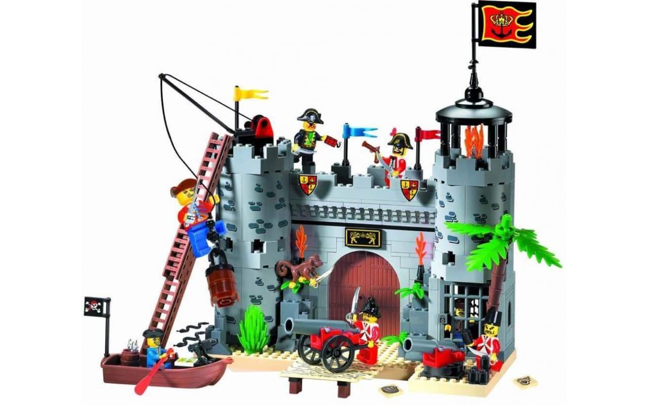 Конструктор аналог ЛЕГО (LEGO) Пиратский замок BRICK 310