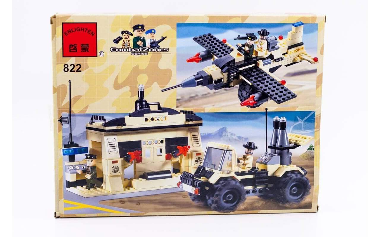 Конструктор аналог ЛЕГО (LEGO) Ракетная установка BRICK 822