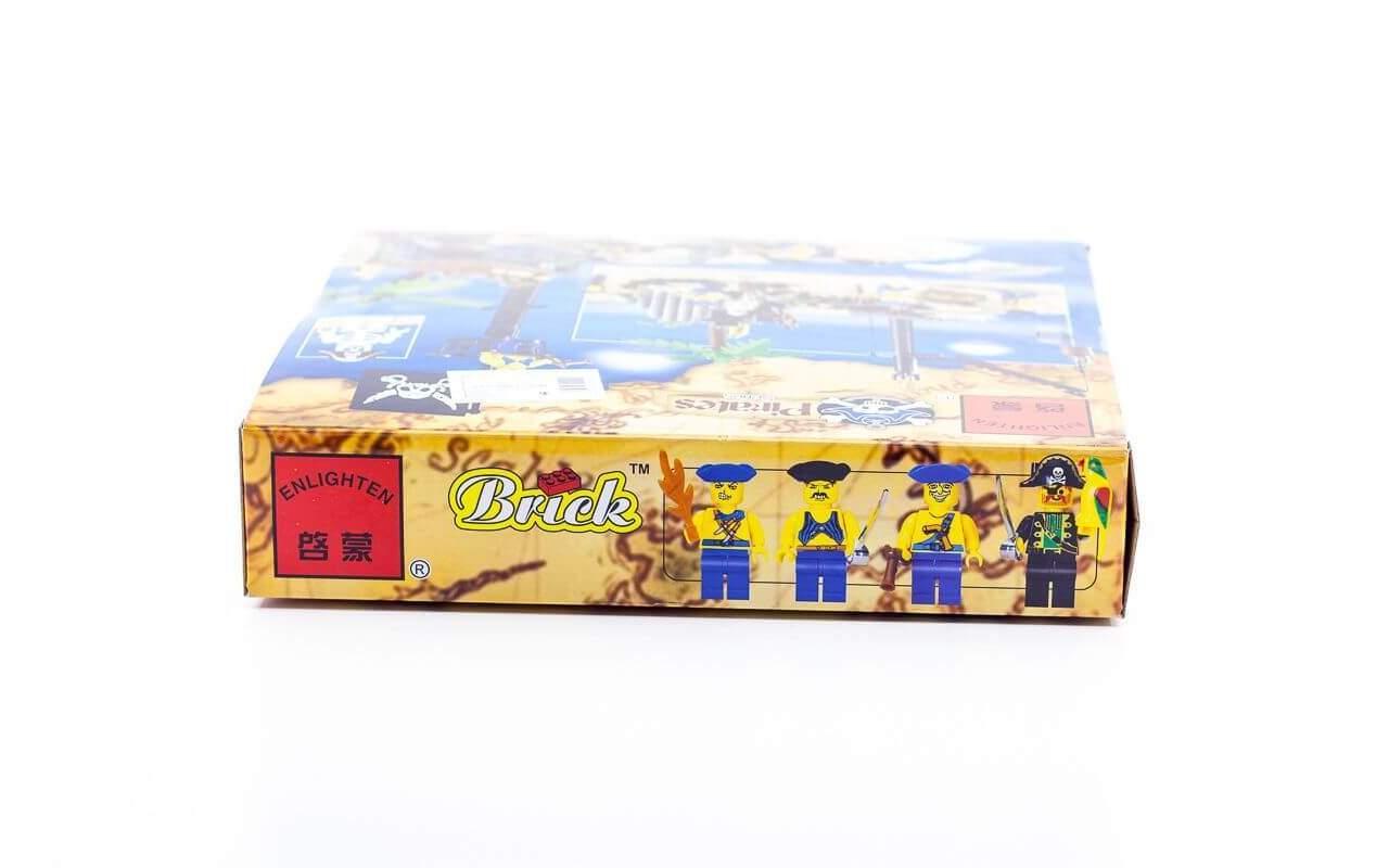 Конструктор аналог ЛЕГО (LEGO) Разбитый корабль BRICK 306