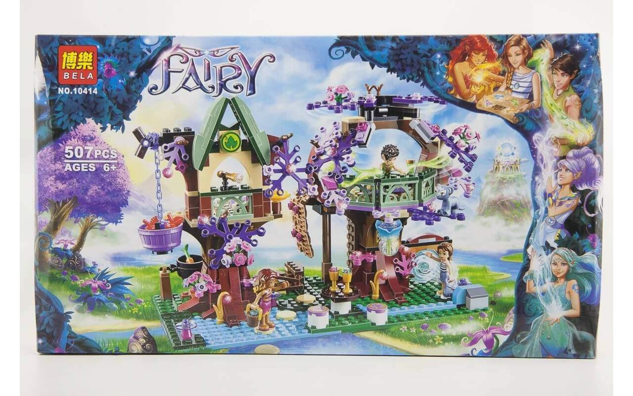 Конструктор аналог ЛЕГО (LEGO) ELVES Деревня Эльфов FAIRY BELA 10414