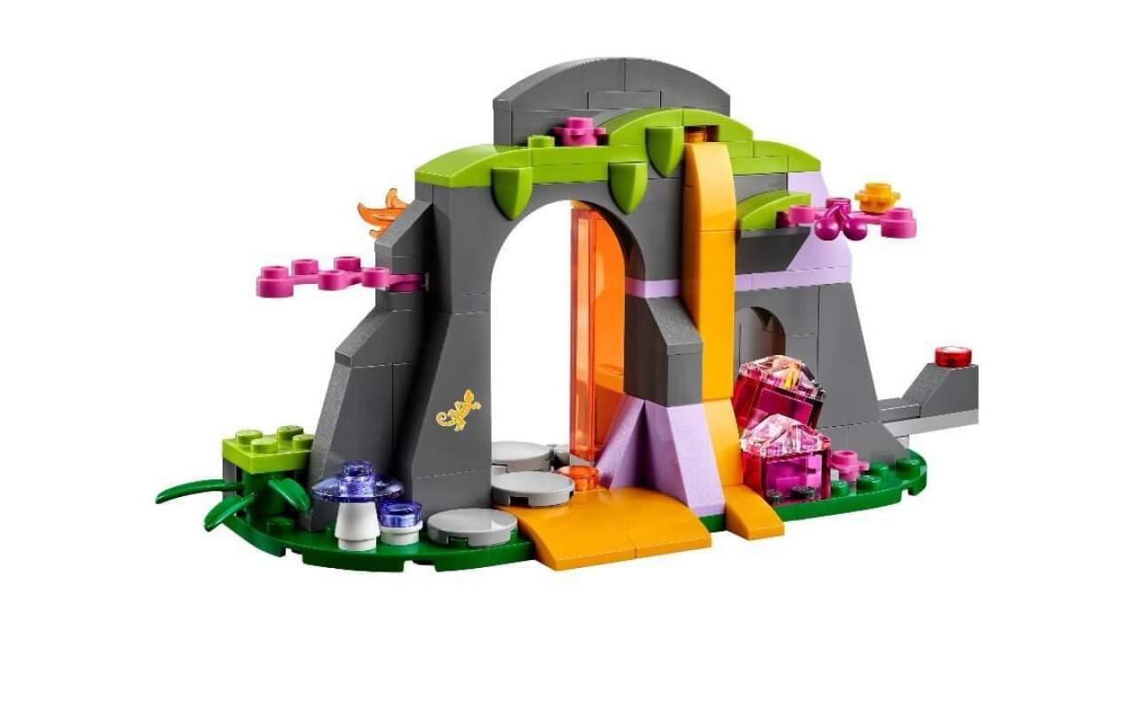 Конструктор аналог ЛЕГО (LEGO) ELVES Лавовая пещера дракона огня FAIRY BELA 10503