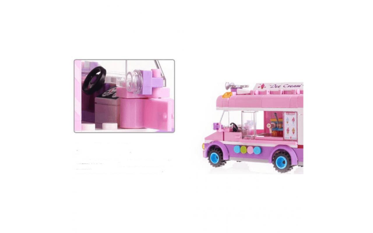 Конструктор аналог ЛЕГО (LEGO) Фургон с мороженым BRICK 1112