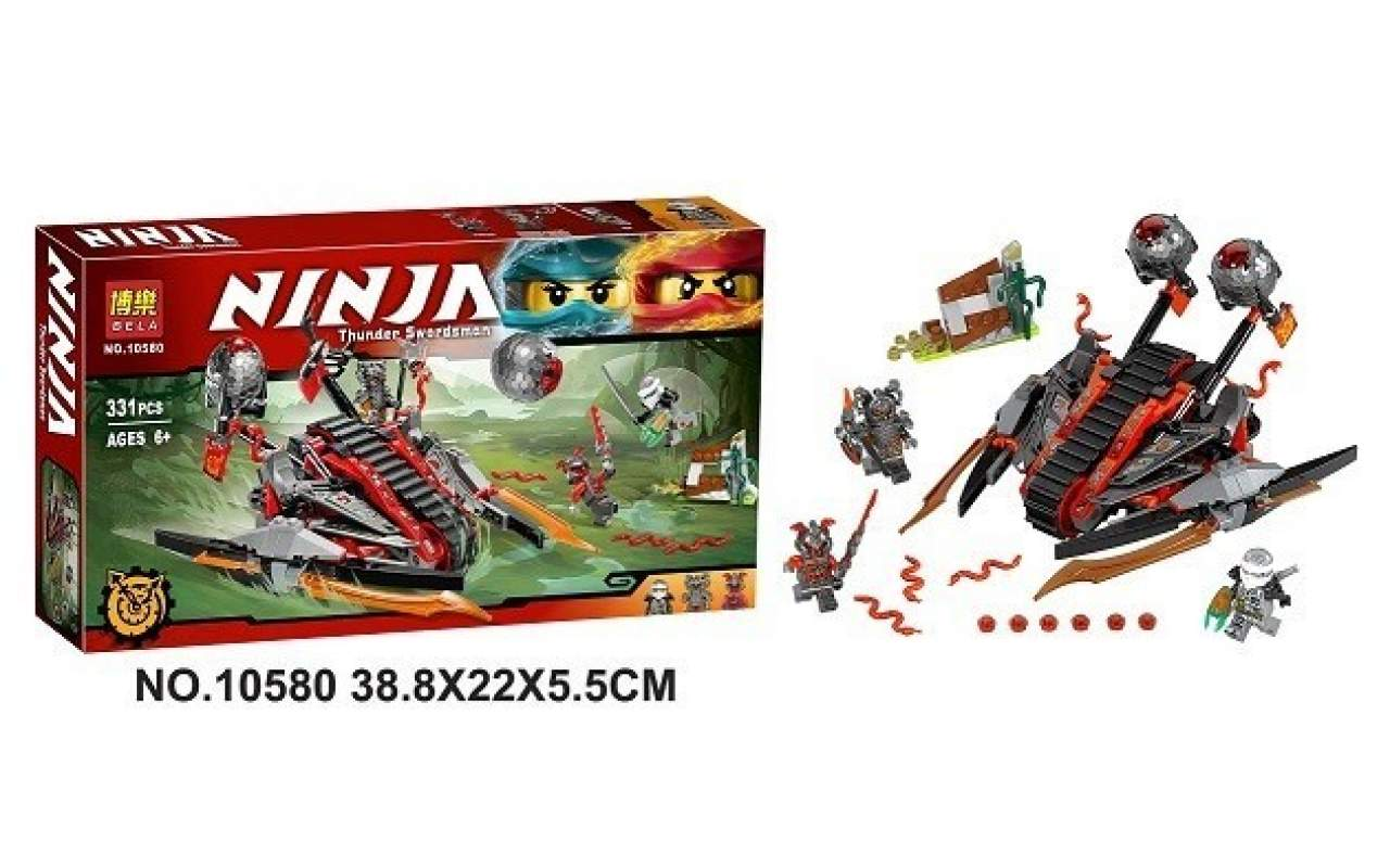 Конструктор аналог ЛЕГО (LEGO) NINJAGO Алый захватчик NINJA BELA 10580