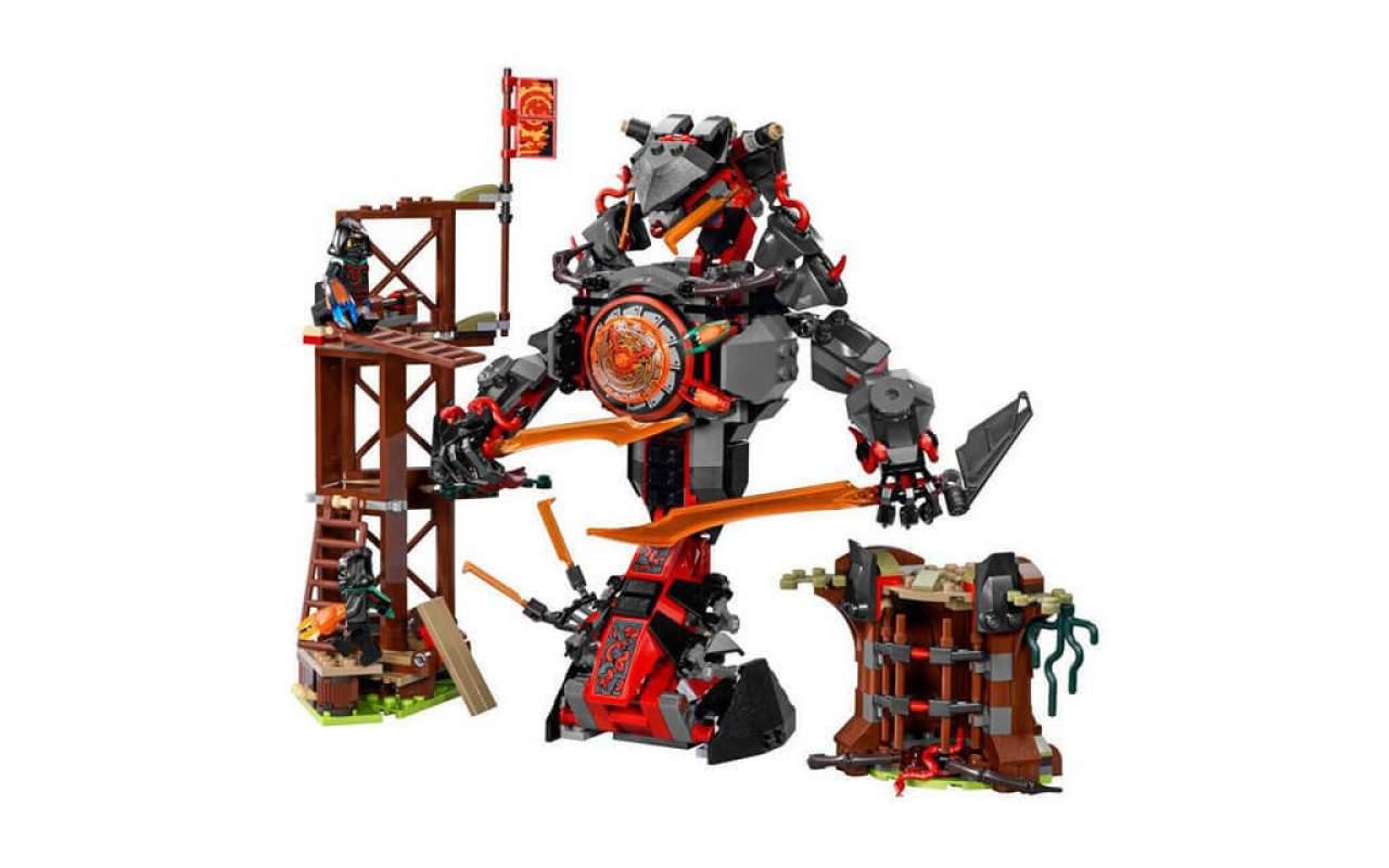 Конструктор аналог ЛЕГО (LEGO) NINJAGO Железные удары судьбы NINJA BELA 31023