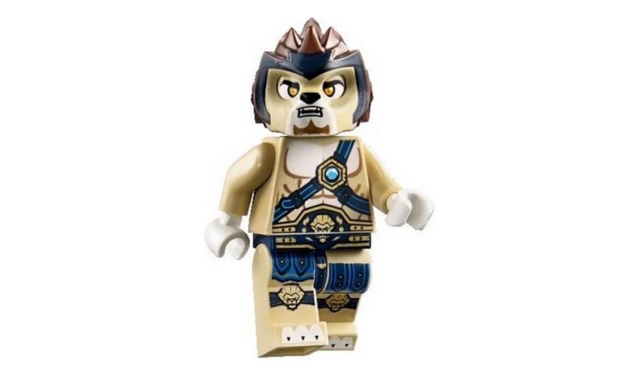 Конструктор аналог ЛЕГО (LEGO) CHIMA Лев Леннокс атакует BELA 10054