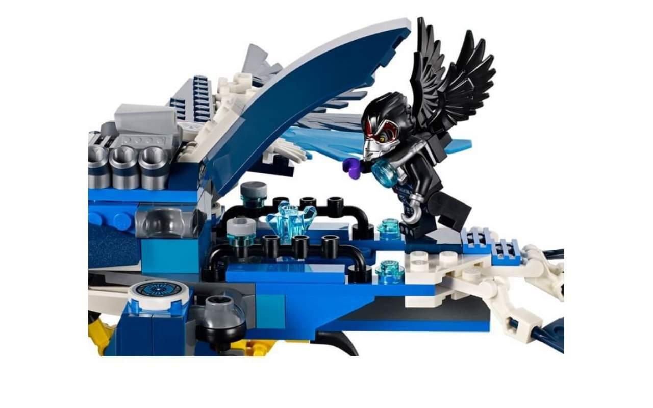 Конструктор аналог ЛЕГО (LEGO) CHIMA Перехватчик Орлицы BELA 10057