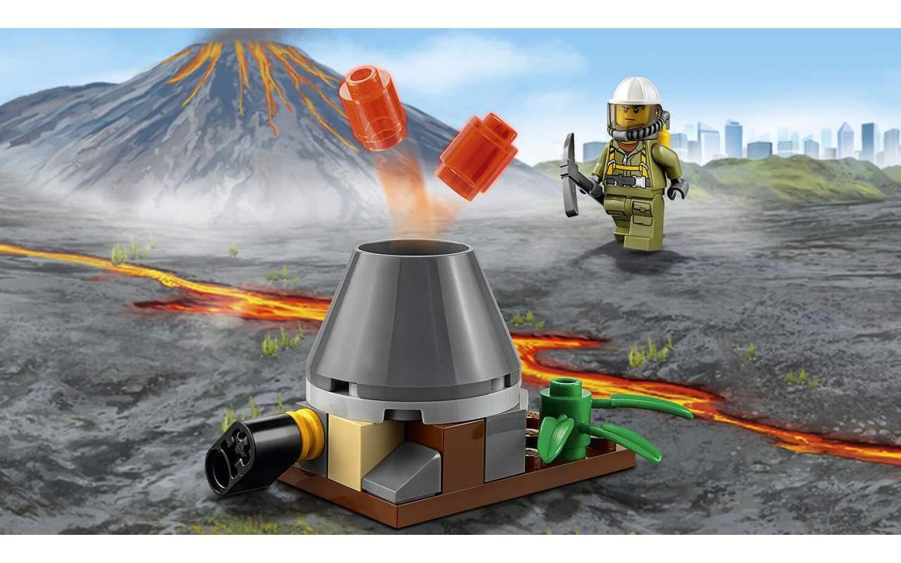 Конструктор аналог ЛЕГО (LEGO) CITY Исследователи Вулканов URBAN BELA 10637