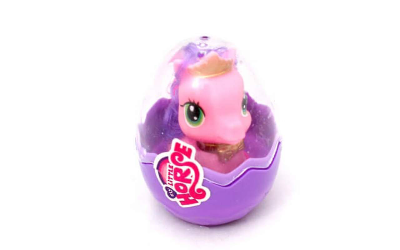 Маленький пони Little Horse яйцо с игрушкой