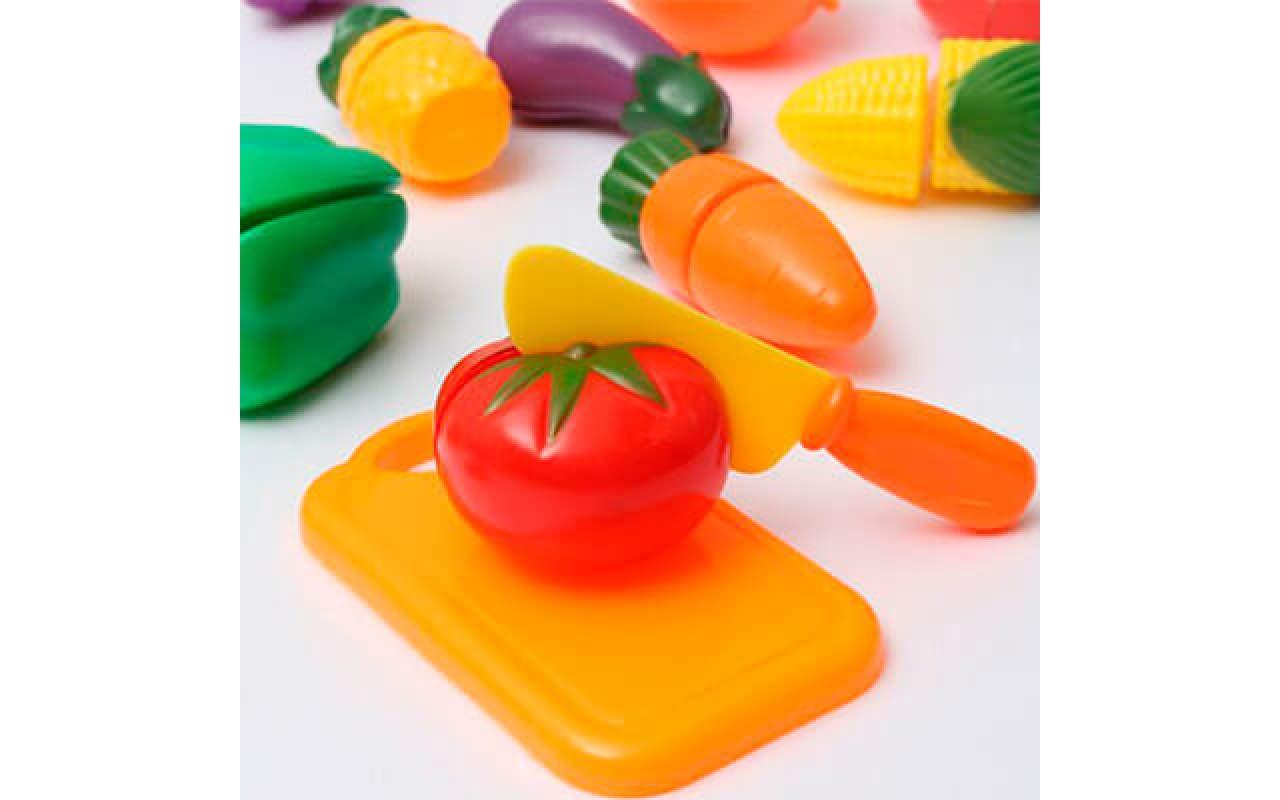 Игрушечный набор овощей 6 шт.