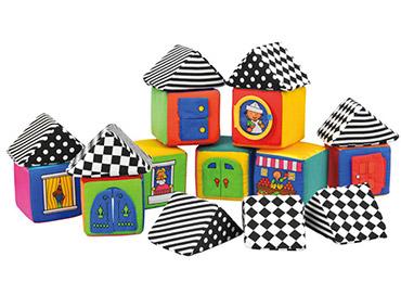 мягкие кубики конструктор